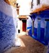 Marokkó kék utcája