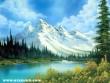 Tó az Alpok elõtt