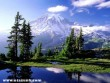 Hidden Lake in Mount Rainier National Park, Washington