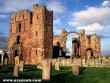 Lindisfarne Priory, Anglia