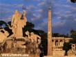 Piazza del Popolo, Rome, Olaszország